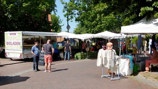 Biomarkt in Wieck am Darß